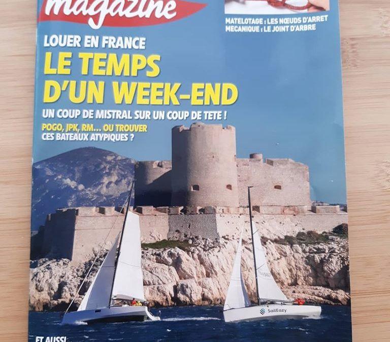 Cap'tain Chercheur est dans Voile Magazine !