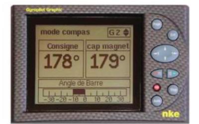 Capot de protection pour un NKE Gyropilote Graphic ancienne generation