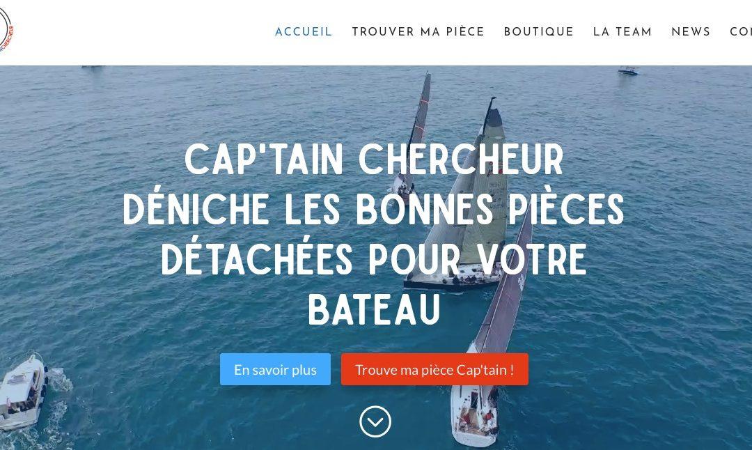 Une Vidéo d'un drone pour la page d'accueil de Cap'tain Chercheur