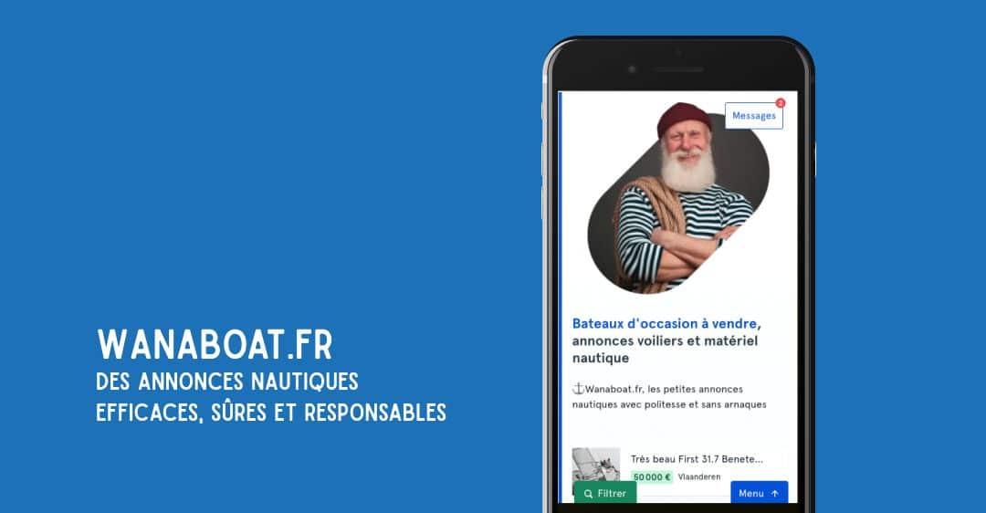 Wanaboat.fr, petites annonces faciles et responsables