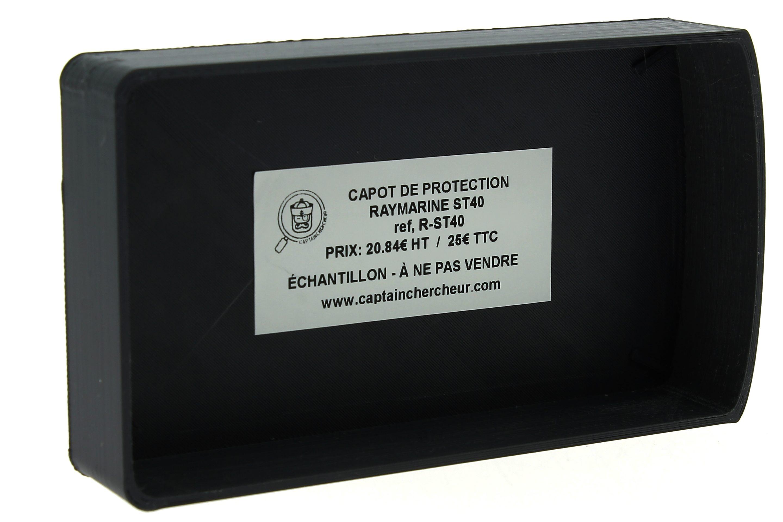 CAPOT DE PROTECTION RAYMARINE ST40 GRIS