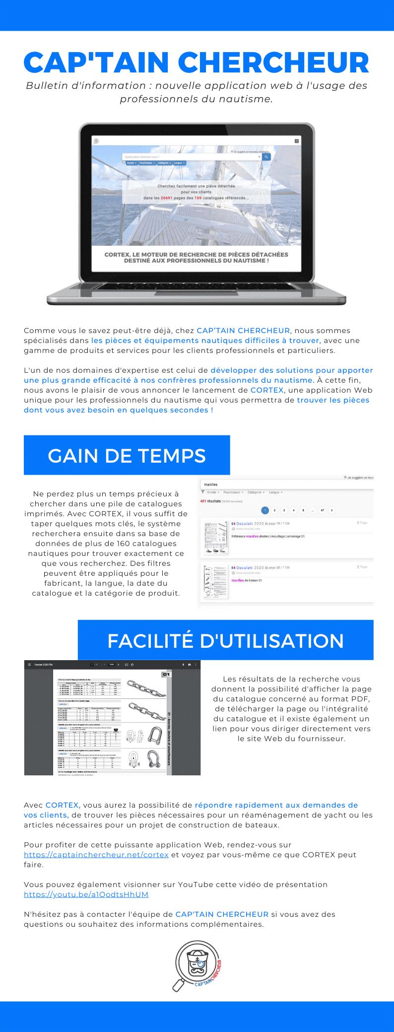 CORTEX Cap'tain chercheur